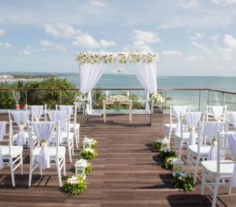 Sheraton Kuta resort wedding