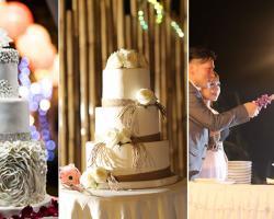 Bali wedding cakes