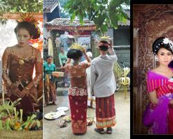 Balinese wedding tradition