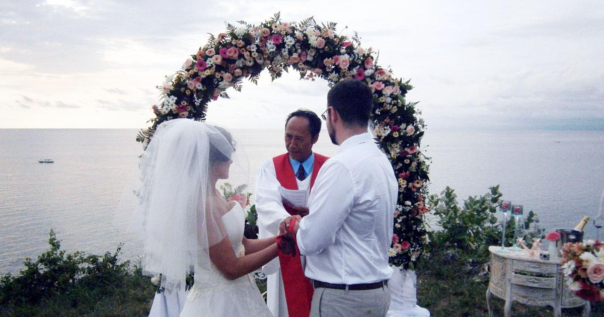 Balangan Wedding Venue - Cliff Top