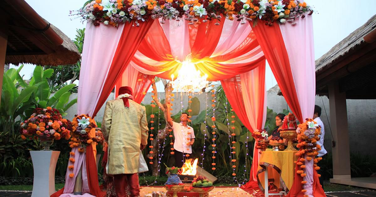 Jerami villa - Intimate Indian wedding