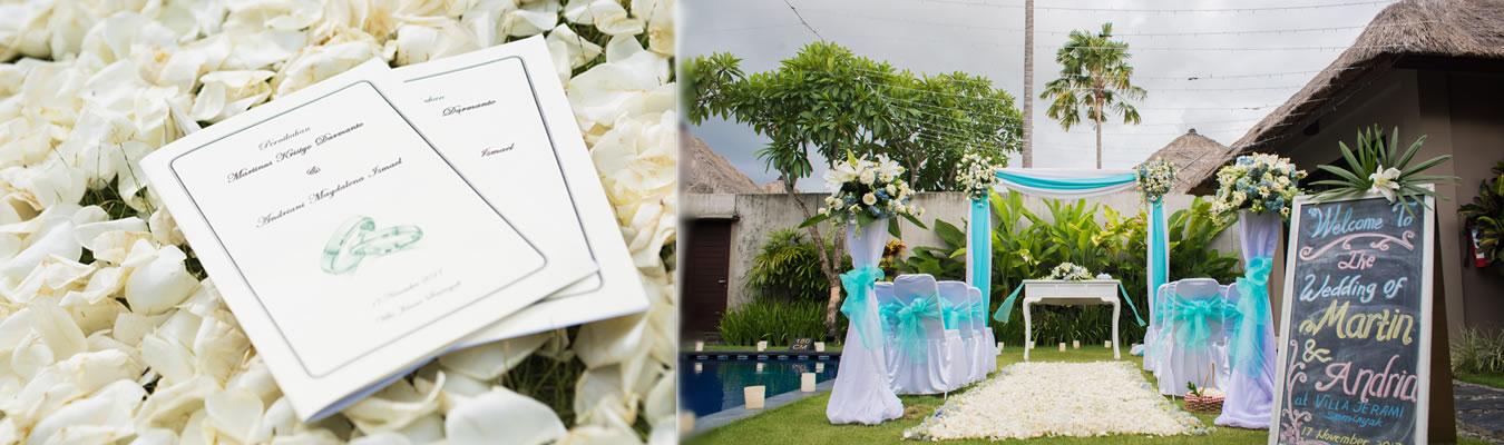 Testimony wedding di Bali