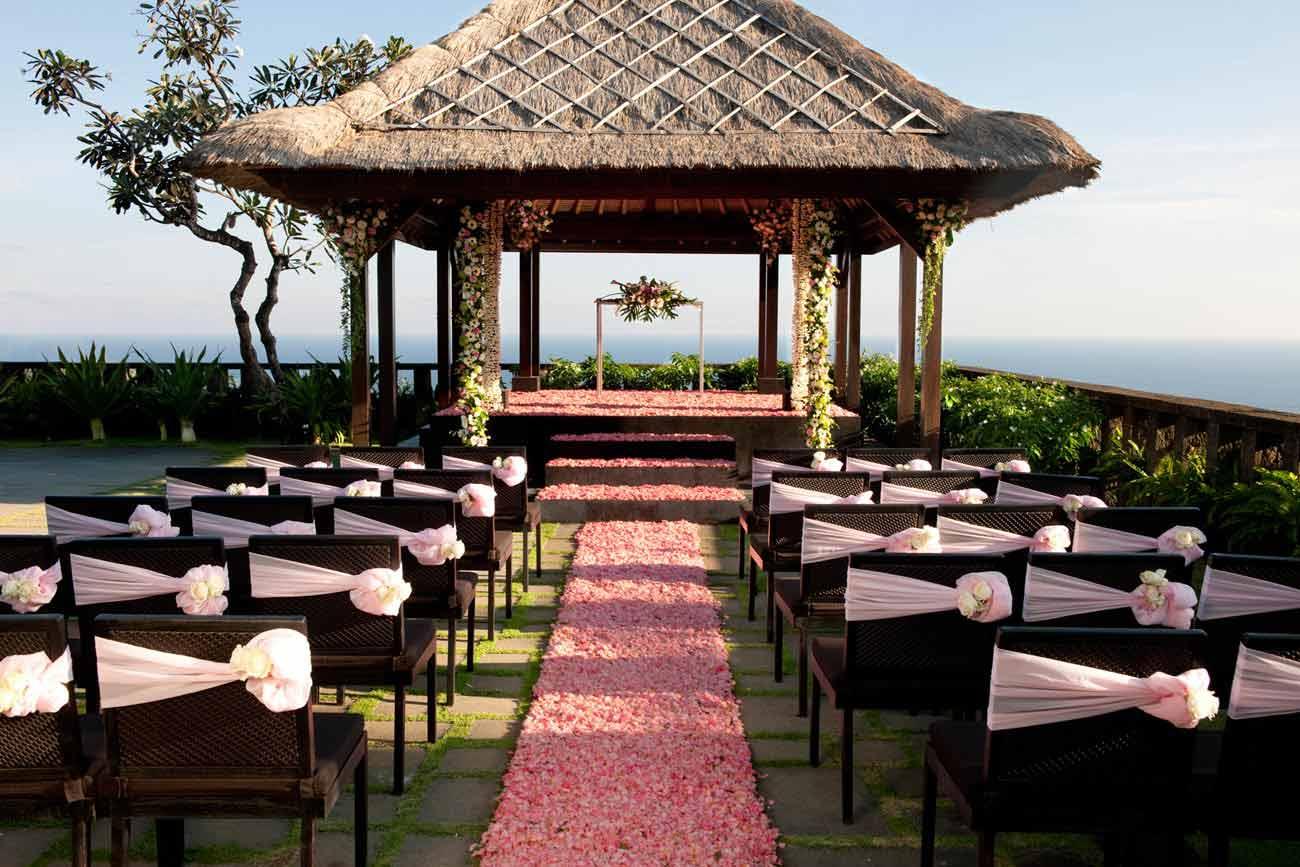 Bulgari Bali Wedding Venue