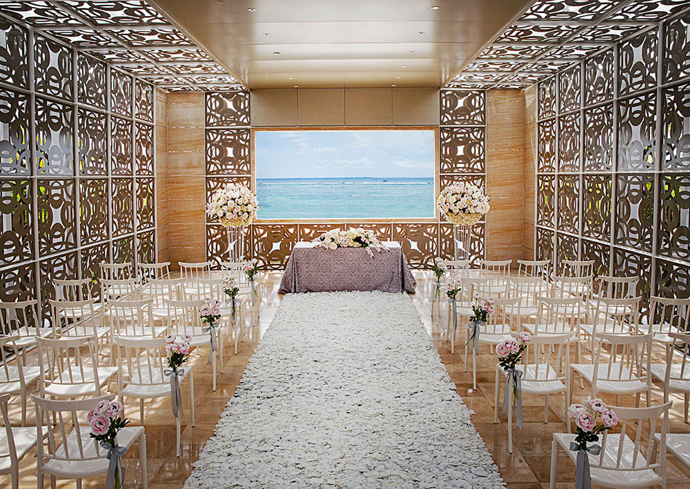 Harmony Chapel Bali Wedding Venue Viewed From Outside Interior