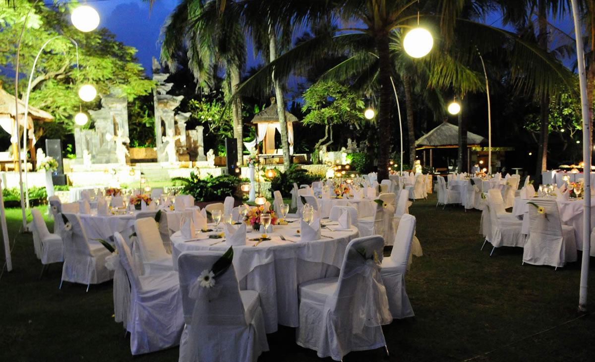 Bali mandira bali wedding venue bali shuka wedding for Bali wedding decoration hire