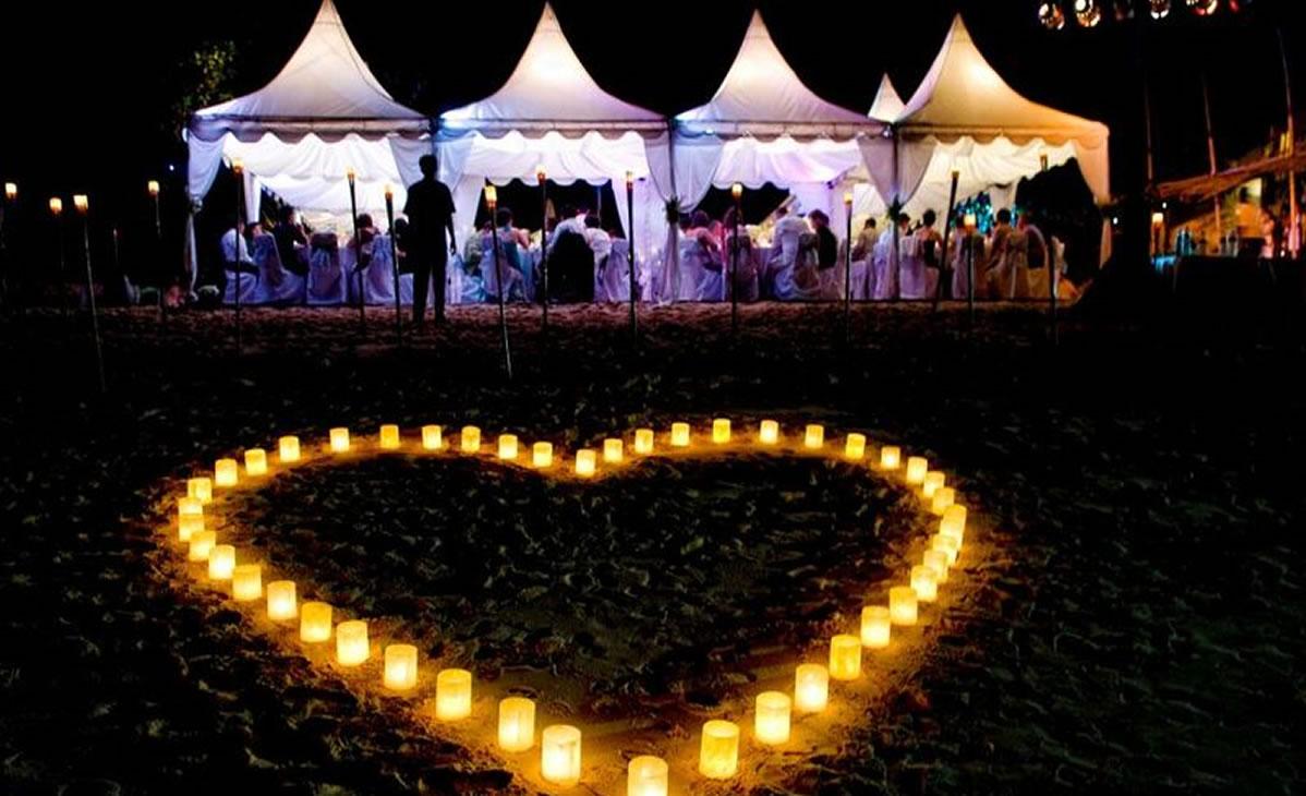 Venue Karma Kandara Beach Wedding