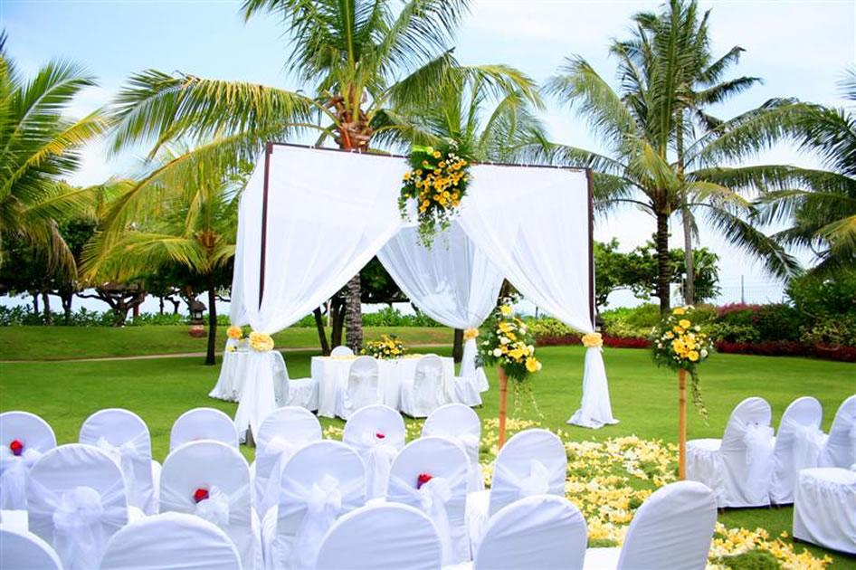 Garden Wedding Grand Hyatt Bali