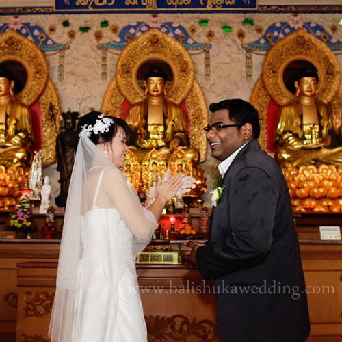 Buddhist Wedding Altar: Eternity Chapel - Intimate Wedding Package