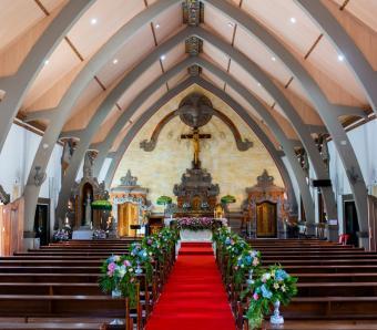 Pernikahan Katolik Gereja Roh Kudus Babakan Canggu