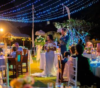 Wedding dinner The Patra Bali