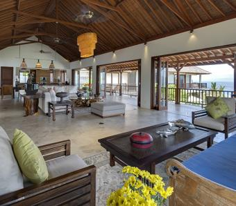 Villa Asada Indoor living area Candidasa