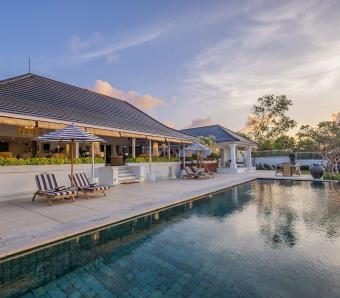 Puri Balangan Poolside paradise