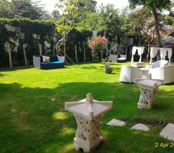 Marbella garden seminyak wedding