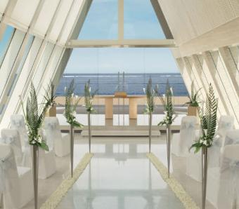 Conrad Bali Infinity Chapel - Wedding Venue