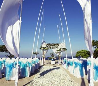 Kayumanis nusa dua beach - Bali Wedding Venue