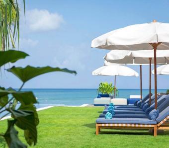 Noku Beach House Beautiful Scenery from Sun Lounger