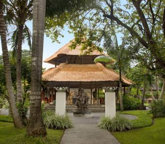 Segara Village garden - Bali Wedding Venue