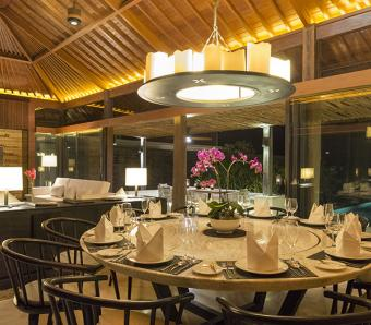Sohamsa Estate Villa Hamsa Dining Area