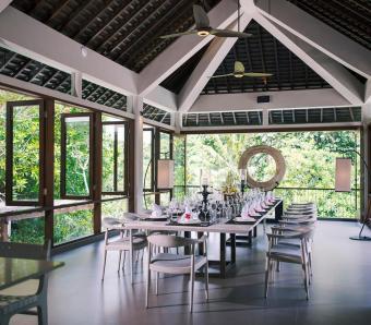 Dining area The Arsana Estate Villa