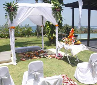 The shore Villa - Bali Wedding Venue