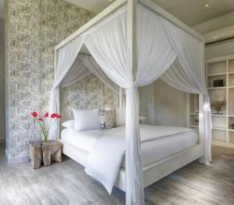 Villa pure bedroom