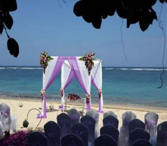 samabe beach wedding