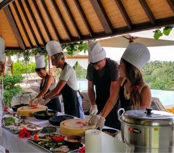 Goya Balinese cooking lesson