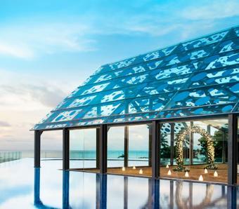 Le Meridien Jimbaran -Wedding Pavillion sea view
