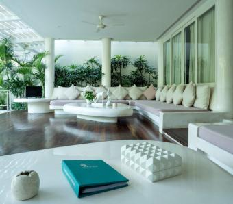 Eden - The Residence At The Sea living room