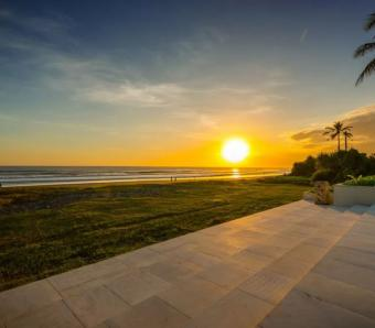 vedas villa sunset view