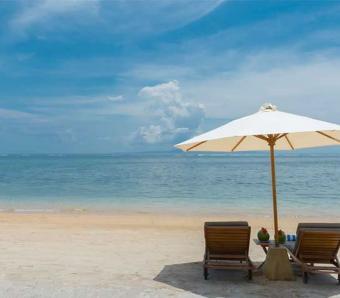 Villa batu Jimbar Beach