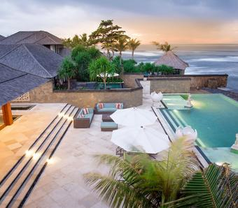 Villa Bayu Gita Beachfront Pool and Deck Sanur
