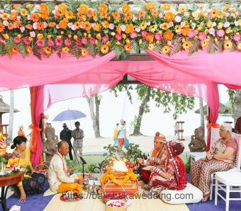 Indian Wedding Melia Bali