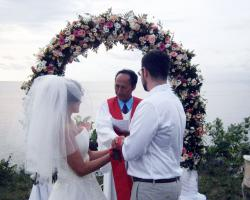 Balangan Wedding Venue - Cliff Top