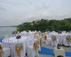 Blue heaven dinner reception