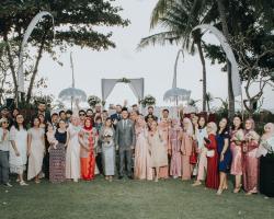 wedding Muslim dengan orang asing