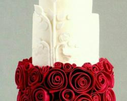 bali wedding cake 2f - chocolate land