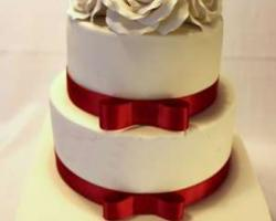 3 tier wedding cake design 2