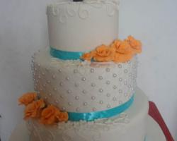 bali wedding cake 3c2- chocolate land