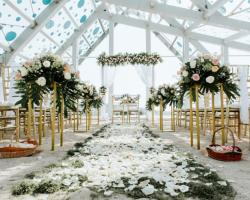 Le Meridien Bali Jimbaran Wedding Ceremony Chapel Decor