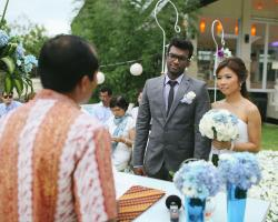 Bali wedding commitment
