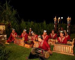 Balinese live gambelan