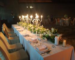stand candelier for bridal table