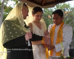 Buddhist wedding procession