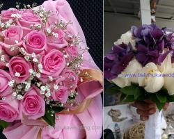 Round Rose bouquet