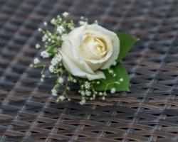 groom`s corsage
