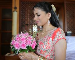 indian bride makeup and hairs do by eka
