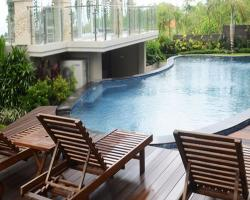 flamingo dewata- Studio villa`s swimming pool