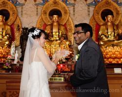 Buddhist wedding altar vihara