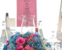 Flower centerpiece guest table option II